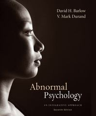 Abnormal Psychology 7th Edition 9781305177208 1305177207