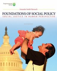 Brooks/Cole Empowerment Series: Foundations of Social Policy (with CourseMate Printed Access Card) 5th Edition 9781285751597 1285751590