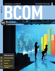 BCOM 6th Edition 9781285431642 1285431642