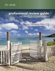 Professional Review Guide for CCS-P Exam, 2014 Edition 1st Edition 9781305178090 1305178092