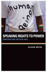 Speaking Rights to Power 1st Edition 9780199982684 0199982686