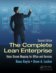 The Complete Lean Enterprise 2nd Edition 9781482206135 1482206137