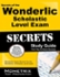 Secrets of the Wonderlic Scholastic Level Exam Study Guide