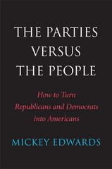 The Parties Versus the People 1st Edition 9780300198218 0300198213