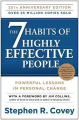 The 7 Habits of Highly Effective People 25th Edition 9781451639612 1451639619