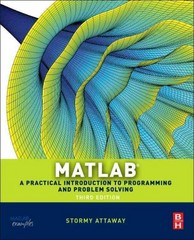 MATLAB 3rd Edition 9780124058767 0124058760