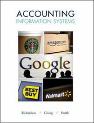 Accounting Information Systems 1st Edition 9780078025495 0078025494