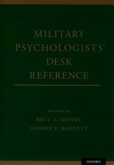 Military Psychologists' Desk Reference 1st Edition 9780199928262 0199928266