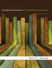 Student Solutions Manual for Howell's Fundamental Statistics for the Behavioral Sciences 8th Edition 9781285948126 1285948122