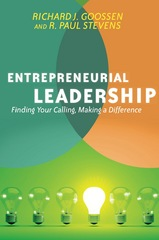 Entrepreneurial Leadership 1st Edition 9780830884278 0830884270