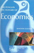 The Penguin Dictionary of Economics 7th edition 9780606302579 0606302573
