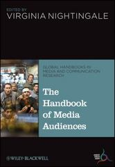 The Handbook of Media Audiences 1st Edition 9781118721391 111872139X