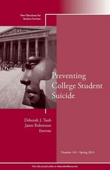 Preventing College Student Suicide 1st Edition 9781118694831 111869483X