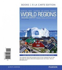 World Regions in Global Context 5th Edition 9780321862297 0321862295