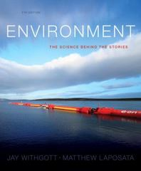 Environment 5th Edition 9780321897060 0321897064