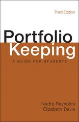 Portfolio Keeping 3rd Edition 9781457667640 1457667649