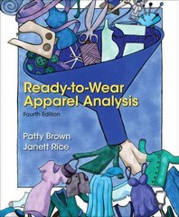 Ready-to-Wear Apparel Analysis 4th Edition 9780133109894 0133109895