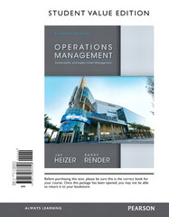 Operations Management, Student Value Edition Plus NEW MyOMLab with Pearson eText -- Access Card Package 11th Edition 9780133455182 0133455181