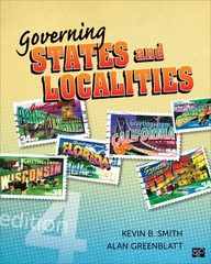 Governing States and Localities 4th Edition 9781452226330 1452226334