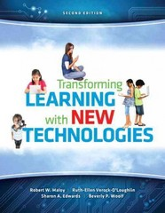 Transforming Learning with New Technologies, Video-Enhanced Pearson eText with Loose-Leaf Version-- Access Card Package 2nd Edition 9780133424010 0133424014