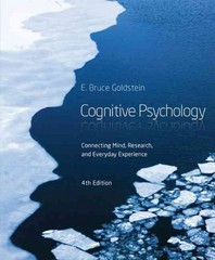 Cognitive Psychology 4th Edition 9781285763880 1285763882