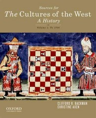 Sourcebook for The Cultures of the West, Volume One 1st Edition 9780199959716 0199959714