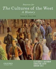 Sourcebook for The Cultures of the West, Volume Two 1st Edition 9780199969838 0199969833