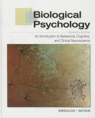 Biological Psychology 7th Edition 9780878939275 087893927X