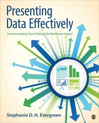 Presenting Data Effectively 1st Edition 9781452257365 1452257361