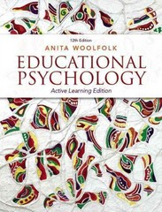 Educational Psychology 12th Edition 9780133385694 0133385698