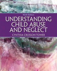 Understanding Child Abuse and Neglect 9th Edition 9780205399697 020539969X