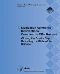 4. Medication Adherence Interventions: Comparative Effectiveness 0 9781483935157 1483935159
