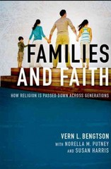 Families and Faith 1st Edition 9780199948659 0199948658