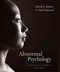 Cengage Advantage Books: Abnormal Psychology 7th Edition 9781285761343 1285761340