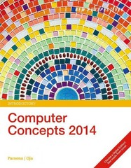 New Perspectives on Computer Concepts 2014, Introductory (with Microsoft Office 2013 Try It! and CourseMate Printed Access Card) 17th Edition 9781285766997 1285766997