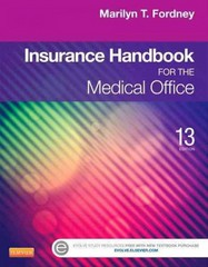 Insurance Handbook for the Medical Office 13th Edition 9781455733255 1455733253