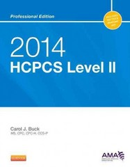 2014 HCPCS Level II Professional Edition 1st Edition 9781455775040 1455775045