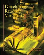 Developing Reading Versatility 8th edition 9780155069336 0155069330