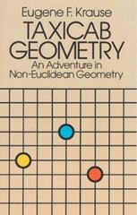 Taxicab Geometry 1st Edition 9780486252025 0486252027