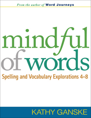 Mindful of Words 1st Edition 9781593858223 1593858221