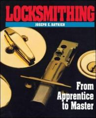 Locksmithing 1st edition 9780070516458 0070516456