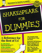 Shakespeare For Dummies 1st Edition 9780764551352 0764551353