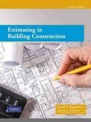 Estimating in Building Construction 7th edition 9780133002881 0133002888