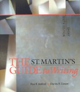 The St. Martin's Guide to Writing 6th edition 9780312240592 0312240597