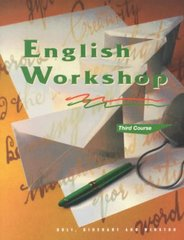 English Workshop 95th edition 9780030971761 0030971764