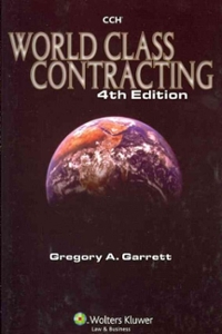 World Class Contracting 4th edition 9780808016113 0808016113