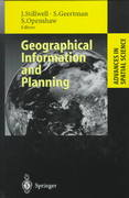 Geographical Information and Planning 1st edition 9783540659020 3540659021