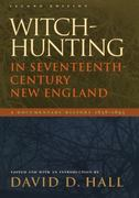 Witch-Hunting in Seventeenth-Century New England 2nd Edition 9780822336136 0822336138