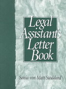 The Legal Assistant's Letter Book 1st edition 9780135330845 013533084X