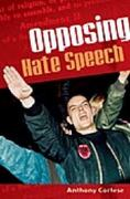 Opposing Hate Speech 0 9780275984274 0275984273